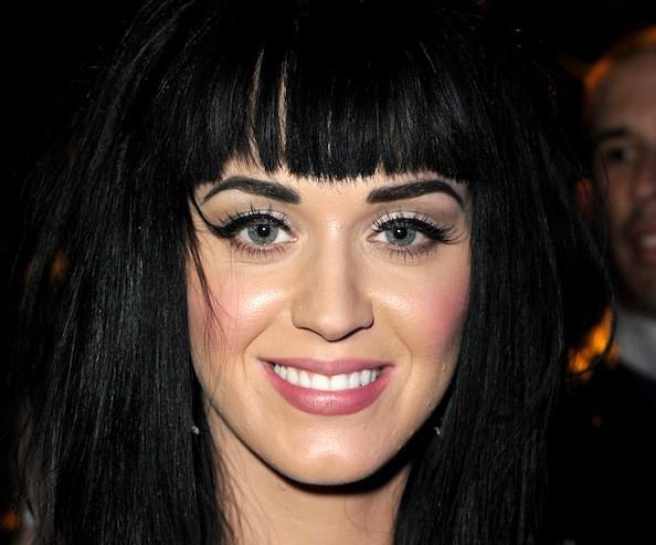 black hair katy perry