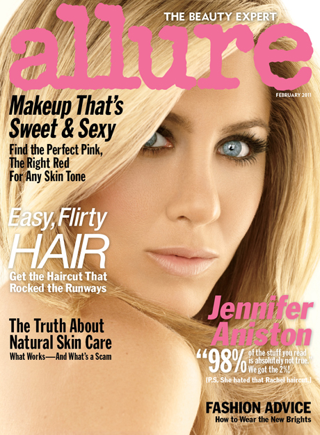 jennifer aniston new bangs 2011. Jennifer Aniston talks crap