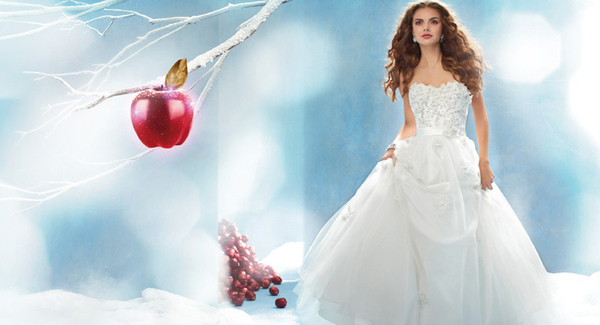Disney Princess Inspired Wedding Dresses AKA Dresses That Look Nothing Like They Did In