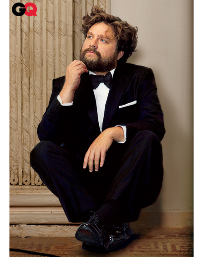 zach galifianakis gq magazine. Zach Galifianakis#39; May GQ