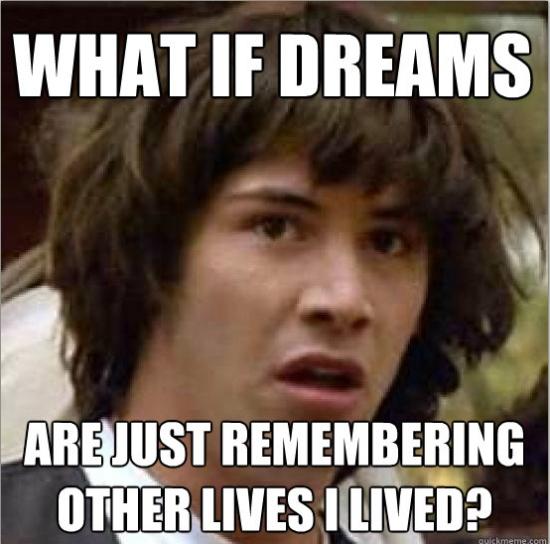 Keanu reeves conspiracy meme
