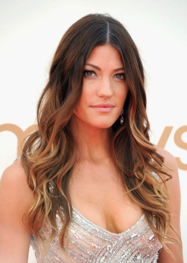 To give the stylist a good idea, I brought this photo of Jennifer Carpenter ...