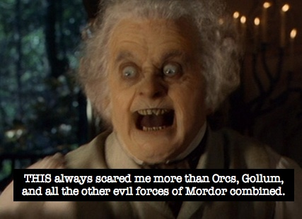 bilbo scary face lord of the rings